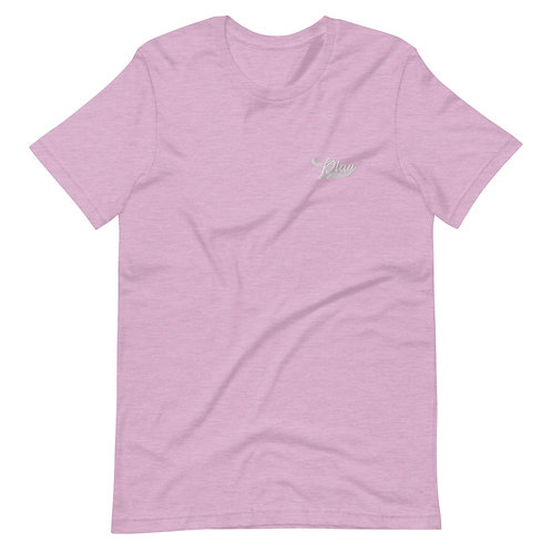 Play Essential Embroidered Tee - Lilac