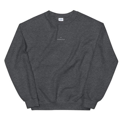 Embroidered Forever Play Sweatshirt - Dark Heather