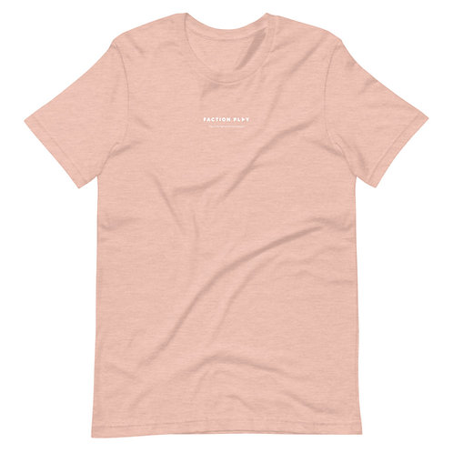 Faction Play Logo Shirt - Peach