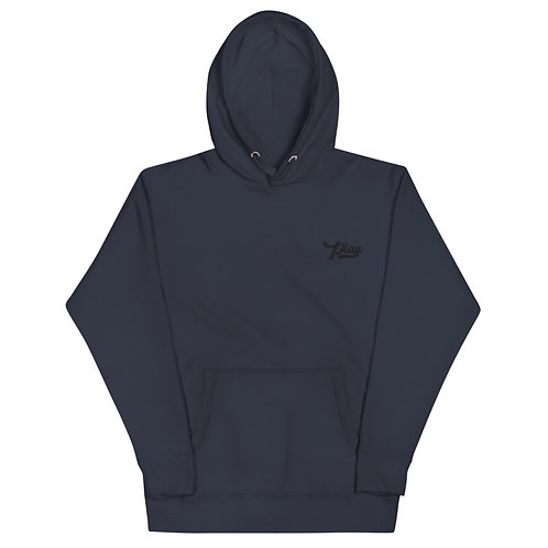 Play Essential Embroidered Hoodie - Navy