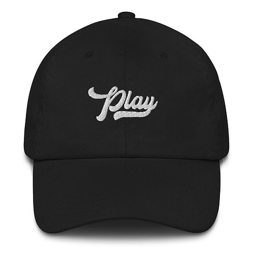 Play Dad Hat - Black