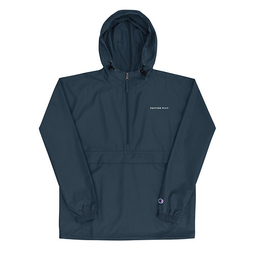 Faction Play Embroidered Champion Jacket - Navy