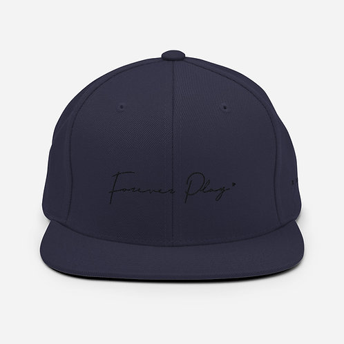 Forever Play Cursive - Navy