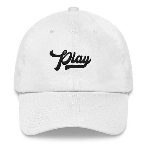 Play Dad Hat - White