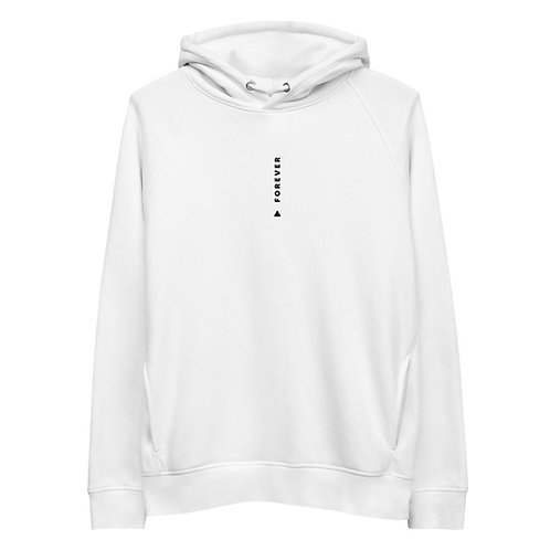 Vertical Forever Play Hoodie - White