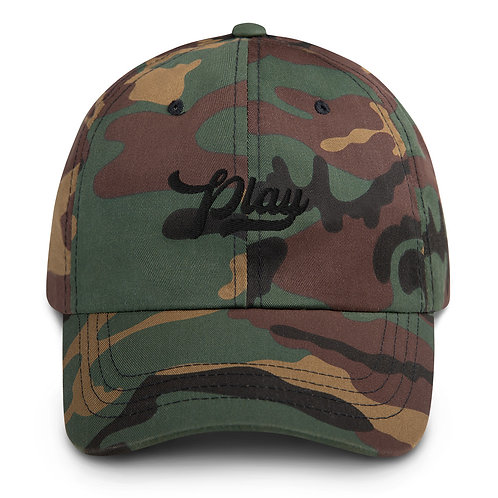 Play Dad Hat - Camo