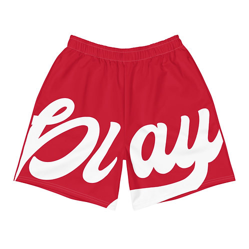 Play Men's Athletic Shorts - Red