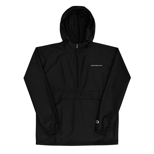 Faction Play Embroidered Champion Jacket - Black