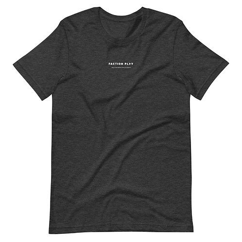 Faction Play Logo Shirt - Dark Gray