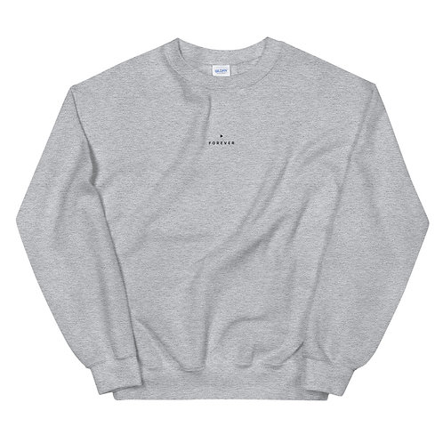 Embroidered Forever Play Sweatshirt - Sport Gray