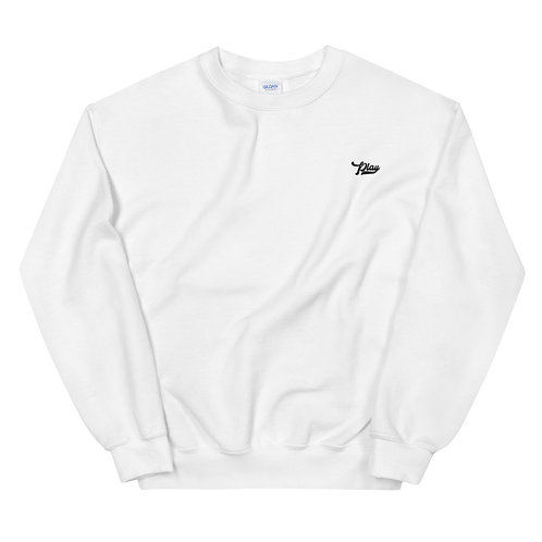 Play Essential Embroidered Sweatshirt - White