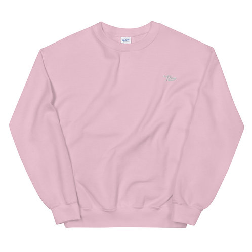 Play Essential Embroidered Sweatshirt - Pink