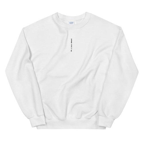 X XVIII MMXIX Sweatshirt - White