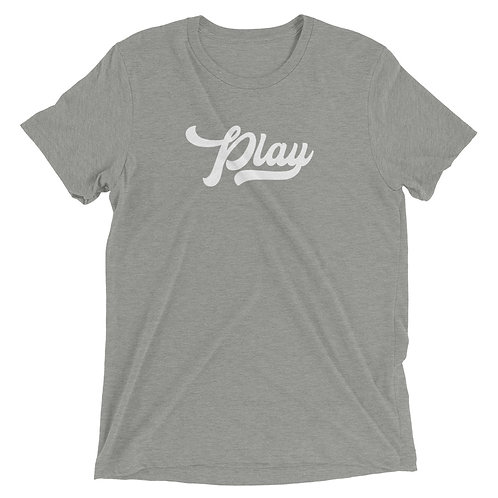 Play Collection Tee - Athletic Gray Fleck Tri Blend