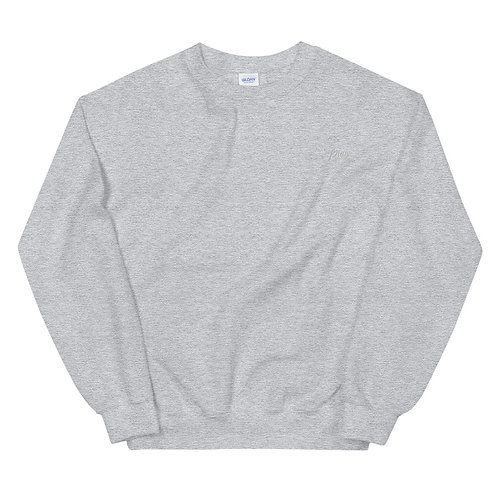 Play Essential Embroidered Sweatshirt - Athletic Gray