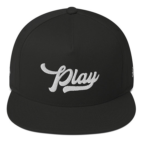 Marathon Play Snap Back - Black