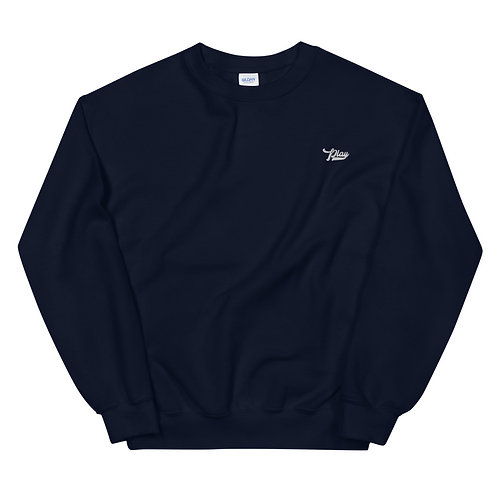 Play Essential Embroidered Sweatshirt - Navy
