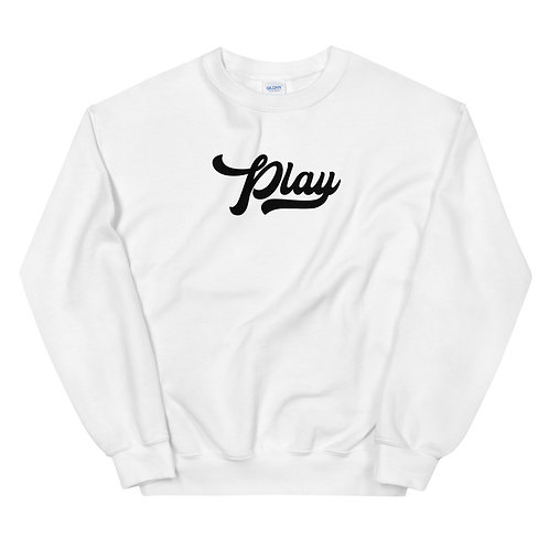 Play Collection Sweatshirt - White