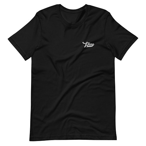 Play Essential Embroidered Tee - Black