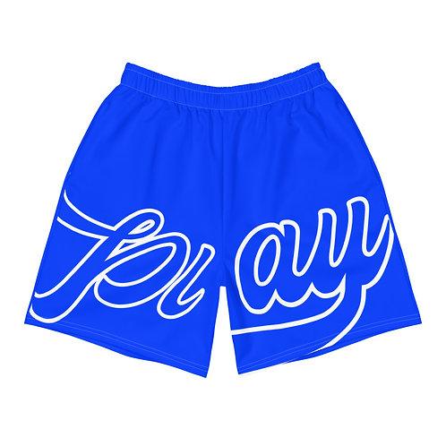 Play Men's Athletic Shorts - Royal Blue