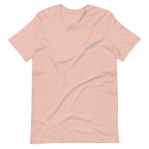 Play Essential Embroidered Tee - Peach