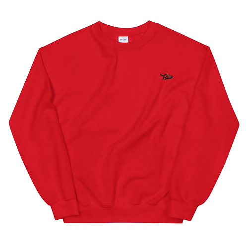 Play Essential Embroidered Sweatshirt - Red
