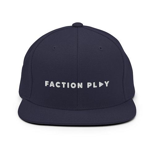 Faction Play Snapback Hat - Navy