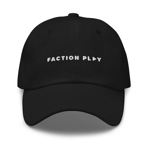 Faction Play Dad hat - Black