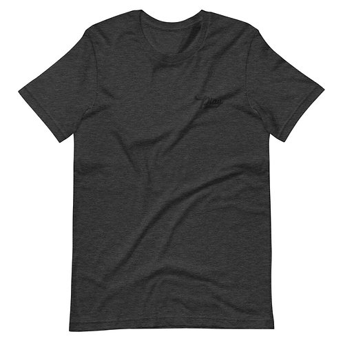Play Essential Embroidered Tee - Dark Gray Heather