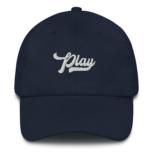 Play Dad Hat - Navy
