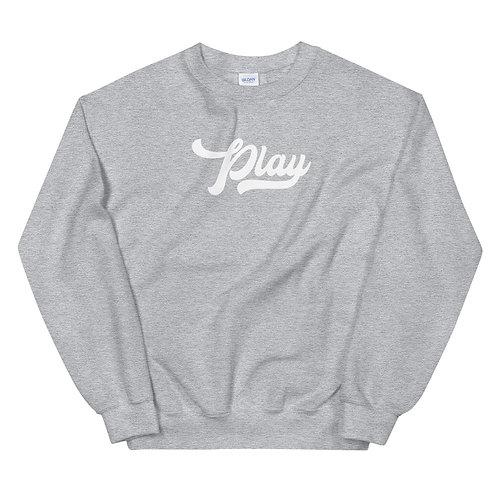 Play Collection Sweatshirt - Gray