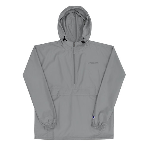 Faction Play Embroidered Champion Jacket - Graphite