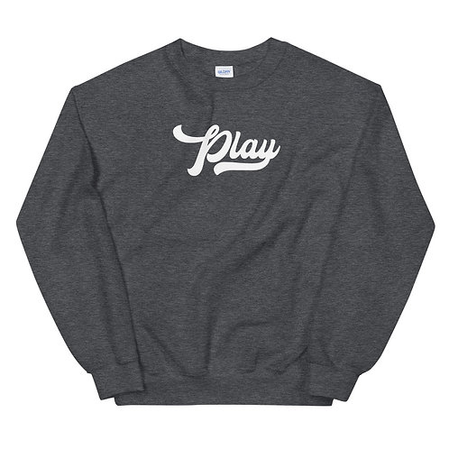 Play Collection Sweatshirt - Dark Heather