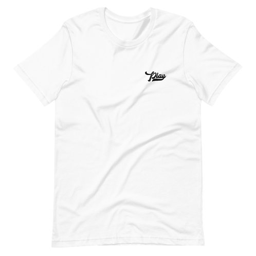 Play Essential Embroidered Tee - White