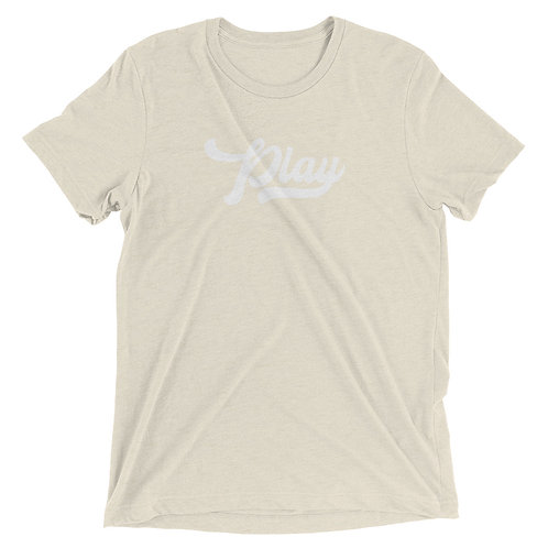 Play Collection Tee - Oatmeal Fleck Tri Blend