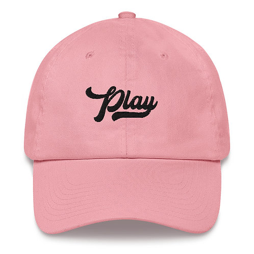 Play Dad Hat - Pink