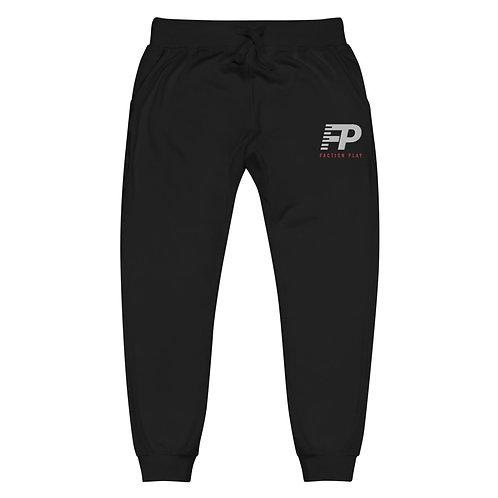 """FP"" Unisex Fleece Sweatpants - Black"