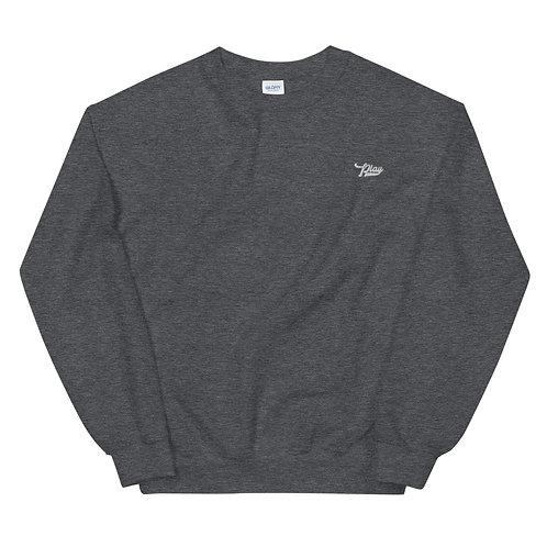 Play Essential Embroidered Sweatshirt - Dark Gray