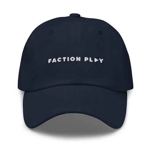 Faction Play Dad hat - Navy