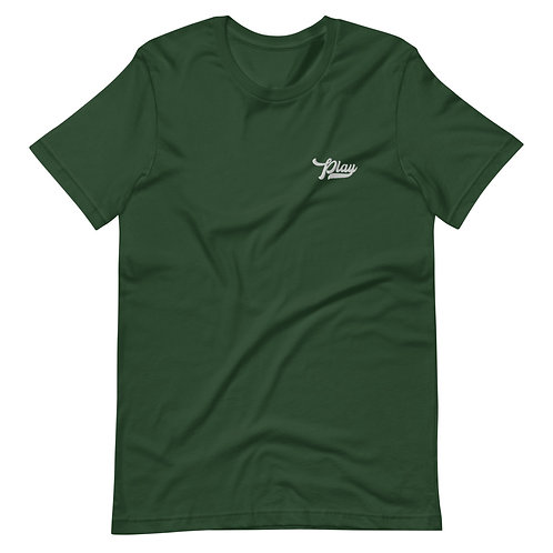 Play Essential Embroidered Tee - Forest