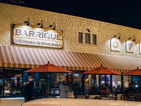 Feb Featured Restaurant: Barrique Kitchen & Wine Bar