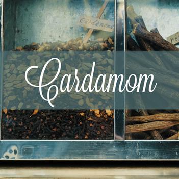 Common Scents: Cardamom