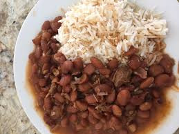 Dried Beans with Onions (Fassoolia Humra) Lebanese Dish