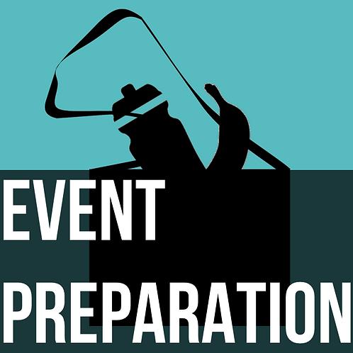 Nutrition - Event Preparation