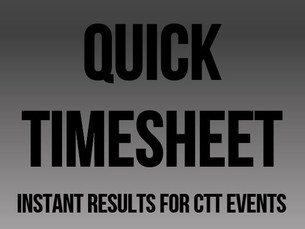 Quick TimeSheet - Instant Results Sheets for Time Trials and Hill Climbs