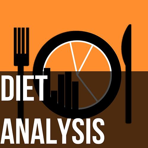 Nutrition - Diet Analysis