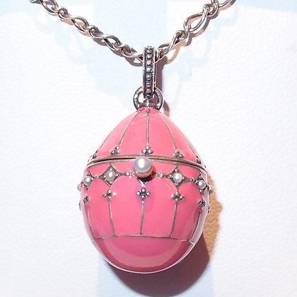 Enamel Egg Pendant