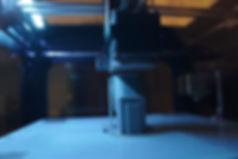 3D printer 3D printing an AR-15 assault riffle handle