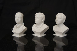 3d scanned and printed bust