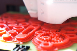 3d printing gear assembly